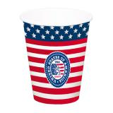 """XL-Pappbecher """"American Style"""" 8er Pack"""