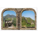 XXL Wanddeko Chinesische Mauer 1,57 m
