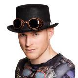 """Zylinder """"Steampunk"""" mit Brille"""