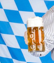 Deko für Bayern