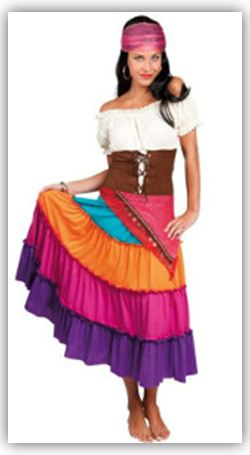 Kostüme für die Frauen