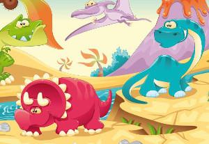 Deko für Dinos