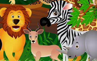 Deko für den Dschungel
