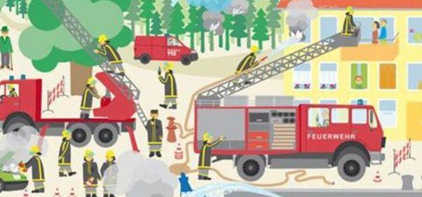 Deko für die Feuerwehr