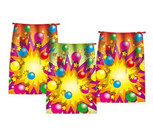 Geschenktütchen mit Luftballons