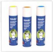 buntes Haarspray