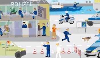 PartyDeko für die Polizei Party