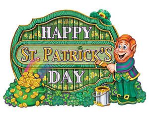Irischer Feiertag St. Patrick's Day